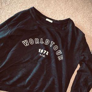 World tour hoodie